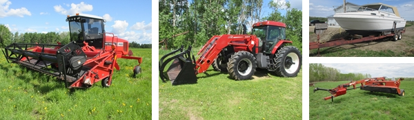 Unreserved Timed Farm Equipment Auction for Greg Johnston
