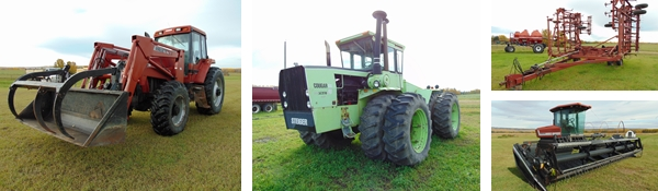 Timed Farm Equipment Auction for Larry & Eve Dacyk