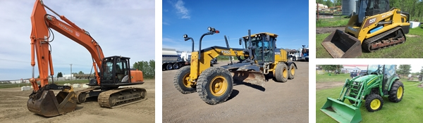 Timed Online Real Estate & Equipment Consignment Auction