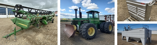 Timed Real Estate & Equipment Consignment Auction