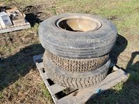 (3) Assorted Truck Tires