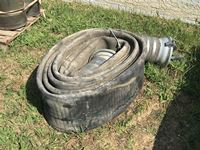 "Length of 10"" Discharge Hose"