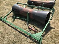 Custombuilt  7 Mounted Hydraulic Steel Tapered Swath Roller
