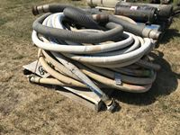 "Qty Of 4"" Suction Hose"