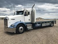 2007 Kenworth T800 S/A Flatbed Truck