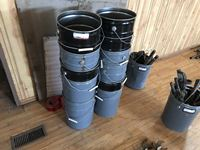 (11) Steel 5 Gallon Pails