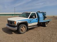 1993 GMC 3500 Dually Flatbed Welding Truck
