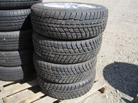 (4) Chrysler Rims w/ Tires, Tire