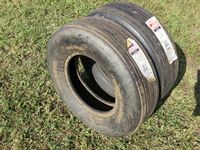 (2) 9.5L-15 Implement Tires (new)