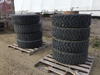 (8) 14.00R20XZL Military Tires