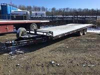 2015 PJ 8242 T/A 24 Ft Deck Over Trailer