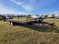 2012 PJ Trailers I-Beam 20 T/A Deck Over Trailer