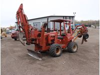 1982 Ditch Witch R65 Trencher, Vibratory Plow