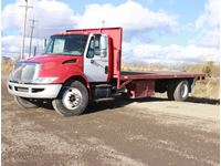 2008 International  S/A Flatbed Truck