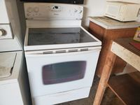 Maytag  Glass Top 4 Burner Stove w/ Oven Range