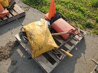 Pallet of Forestry Slashing Truck Supplies
