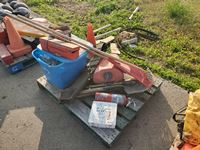 Pallet of Bucket Truck Supplies