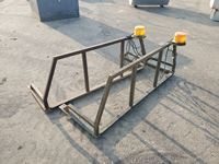 (2) Steel Pickup Headache Racks