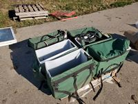 (6) Pack Horse Boxes With Straps