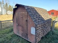 8 ft x 10 ft Uninsulated Chicken Coop