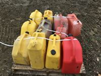 Pallet of (11) Jerry  Cans