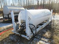 1000 Gal Double Wall Fuel Tank on Skid