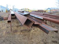 (2) 12 Pipe Stands & Structural Steel