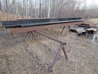 (2) 15 Pipe Stands & Structural Steel