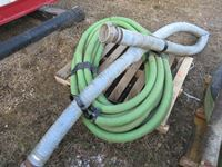 "Qty of 2"" & 4"" Suction Hose"
