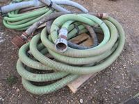 "Qty of 3"" Suction Hose"