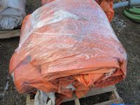 (3) Orange Insulated Tarps