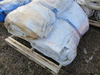 (3) White Insulated Tarps