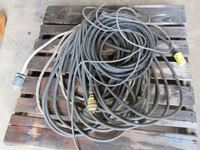 Pallet of Assorted Electrical Cords