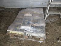 Pallet of Bags of Concrete Mix