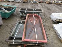 (2) Pallets of Poly  Spill Trays