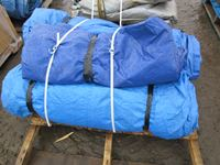 (2) Pallets of Miscellaneous Tarps