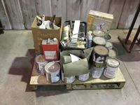 Pallet of Painting Supplies