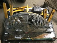 Weldco Beales 1-A Portable Fan