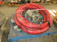 Pallet of Pump Hose & Cam Locks