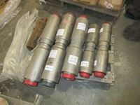 Pallet of Flex Pipe Fittings & Puller , Anodes