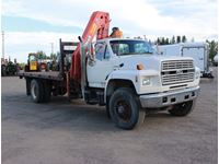 1989 Ford  Picker/Deck Truck