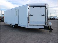 2009 Forest River Snowking 28 V Nose T/A Enclosed Trailer