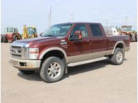 2008 Ford F350 King Ranch 4X4 Crew Cab Pickup