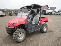 2009 Yamaha Rhino 700 FI Special Edition 4x4 Side by Side