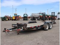 SWS  T/A 18 Deck Trailer