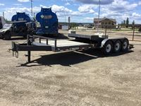 2017 Trail Tech L370 24 Ft Tri/A Deck Trailer