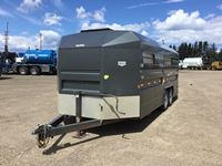 2013 Norbert  20 Ft T/A Bumper Pull Stock Trailer