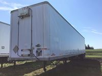 1999 Manac  T/A 53 Ft Van Trailer