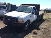 1999 Ford F350 Super Duty Deck Truck