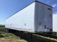 1997 Manac  53 Ft Tri/A Dry Van Trailer